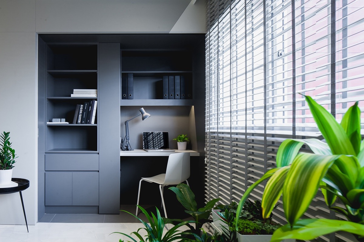 37 Minimalist Home Offices That Sport Simple But Stylish Workspaces images 4