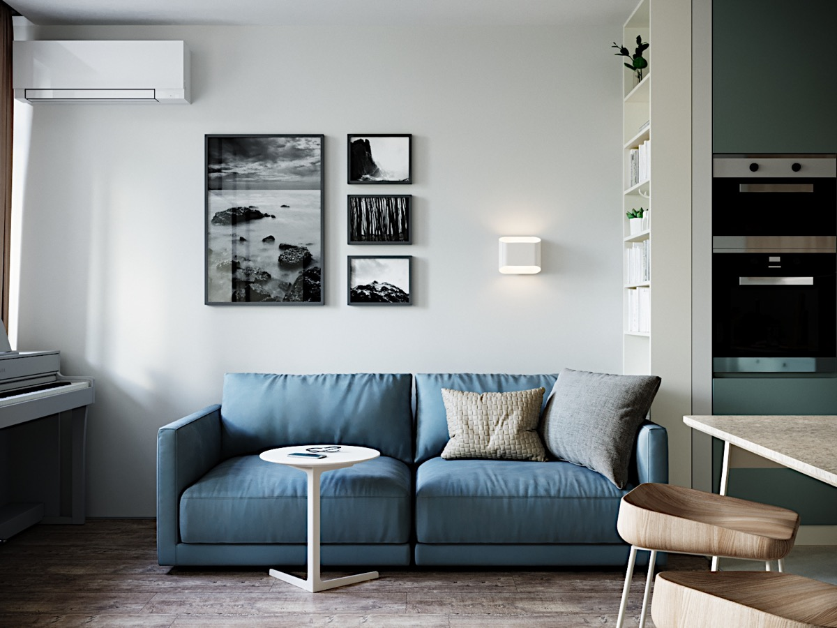 Modern And Youthful: 4 Small Apartments With Fierce Style images 11