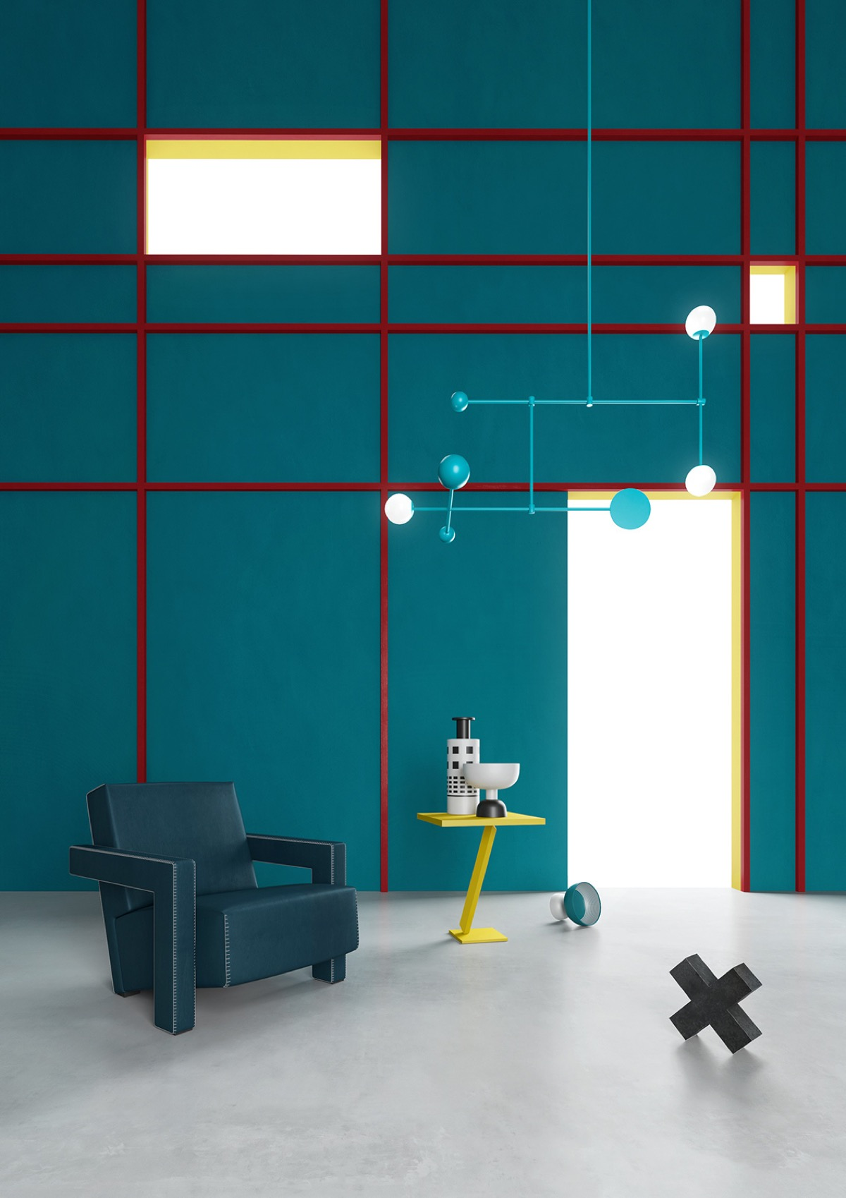 Piet Mondrian Inspired Interior Design To Give Your Home The De Stijl Flair images 12
