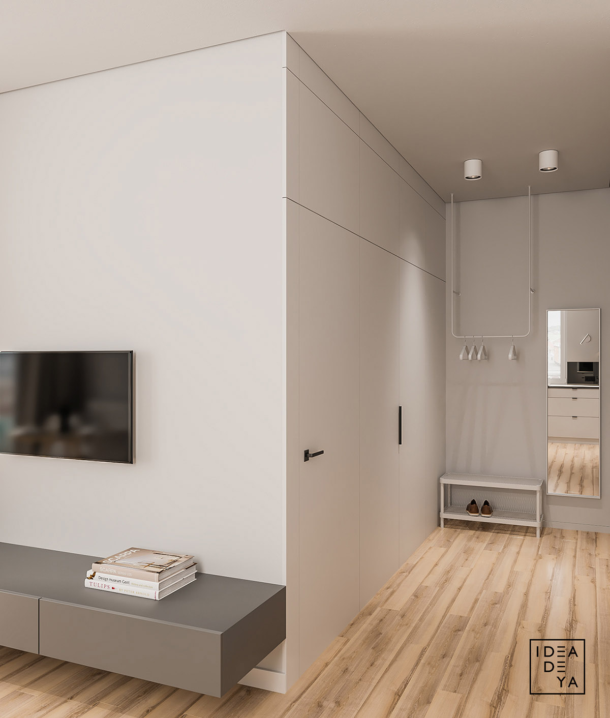 Modern And Youthful: 4 Small Apartments With Fierce Style images 23
