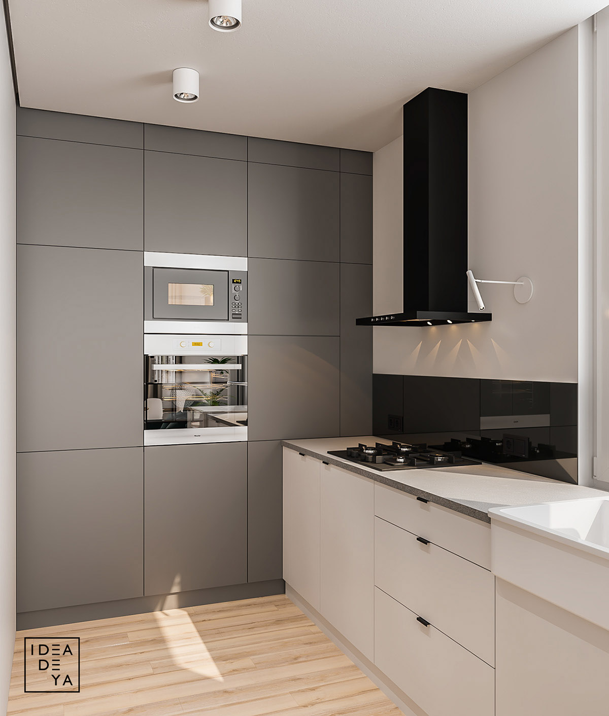 Bachelor Apartment Kitchen Design: Modern & Youthful: 4 Small Apartments With Fierce Style
