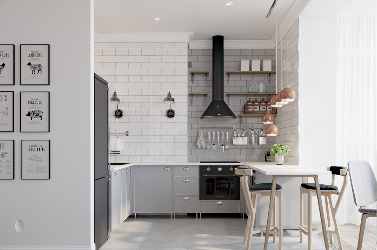 50 Unique U-Shaped Kitchens And Tips You Can Use From Them images 4