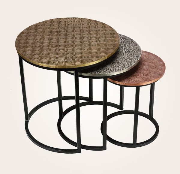 Bronze Nesting Coffee Tables: 41 Nesting Coffee Tables That Save Space & Add Style
