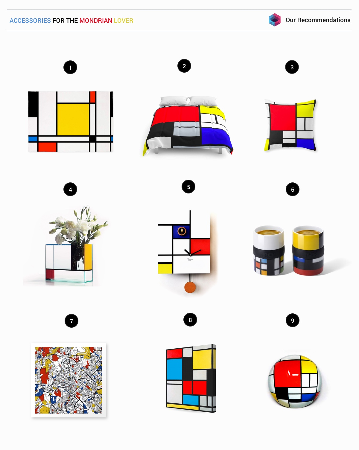 Piet Mondrian Inspired Interior Design To Give Your Home The De Stijl Flair images 48