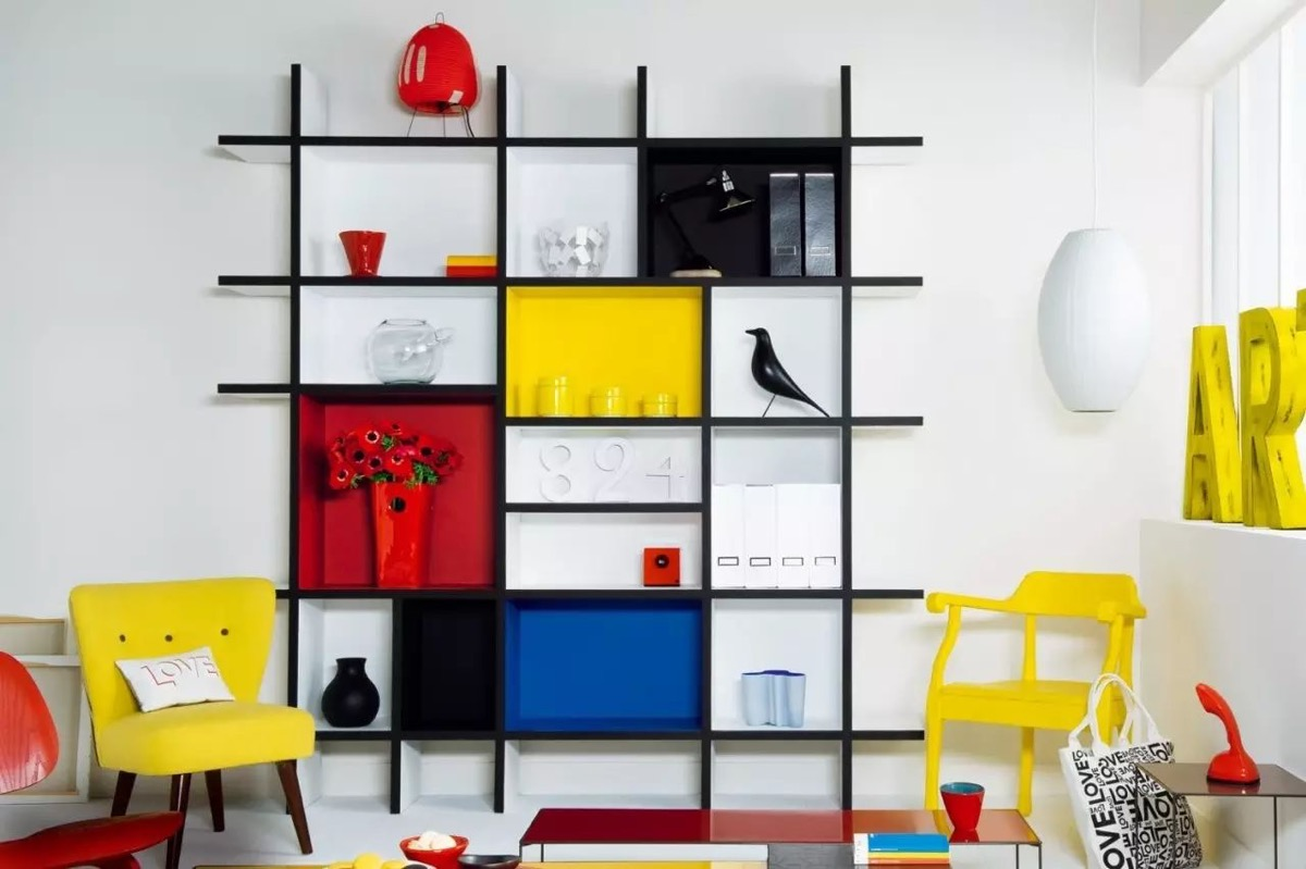 Piet Mondrian Inspired Interior Design To Give Your Home The De Stijl Flair images 37