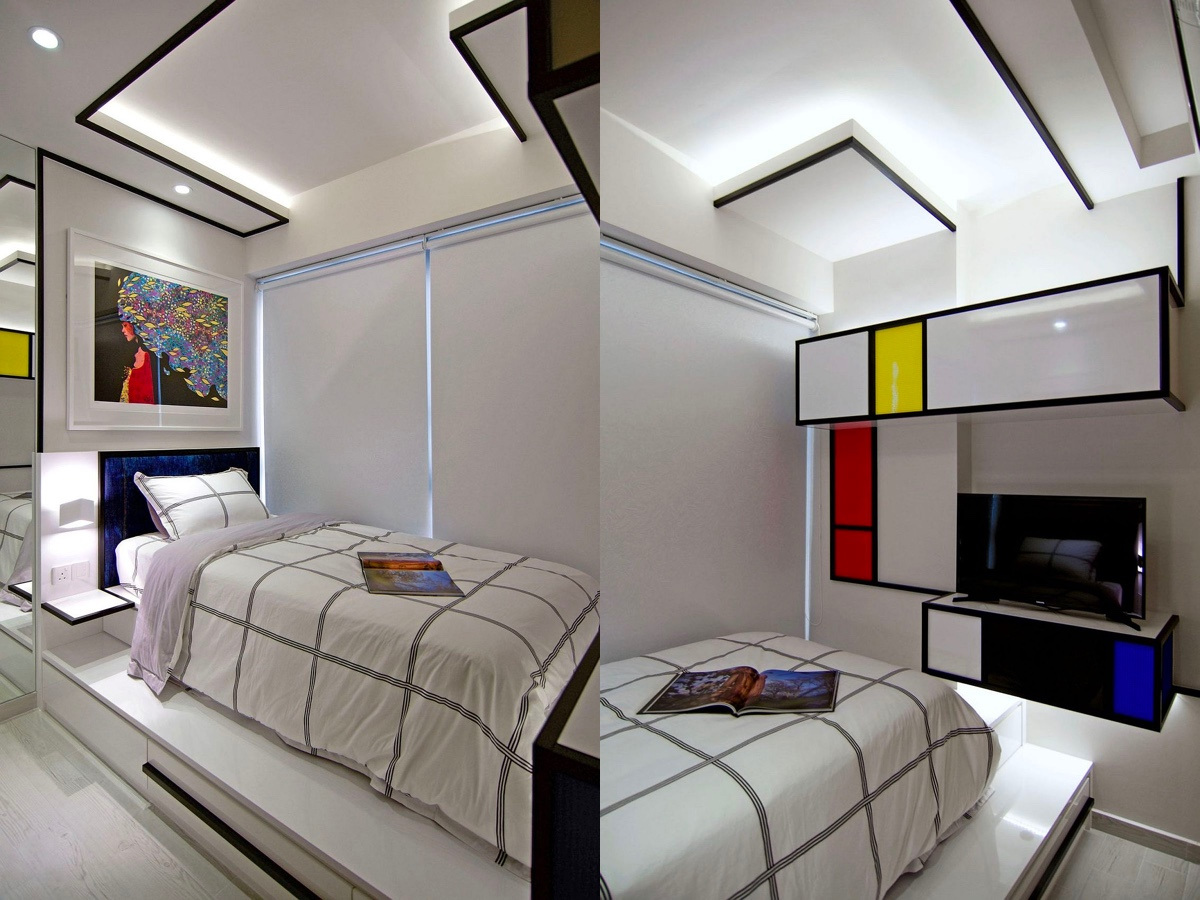 Piet Mondrian Inspired Interior Design To Give Your Home The De Stijl Flair images 20