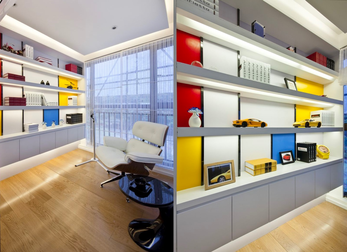 Piet Mondrian Inspired Interior Design To Give Your Home The De Stijl Flair images 36