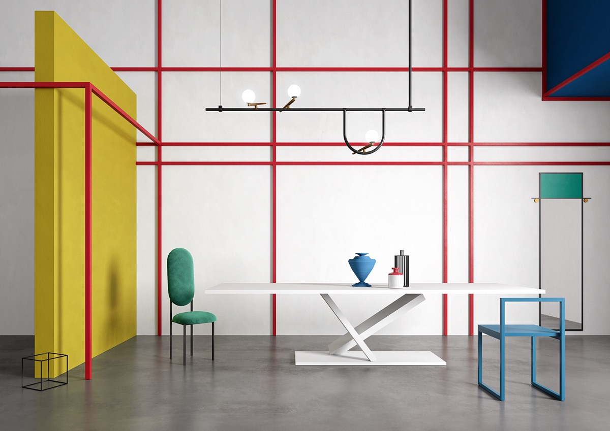 Piet Mondrian Inspired Interior Design To Give Your Home The De Stijl Flair images 11