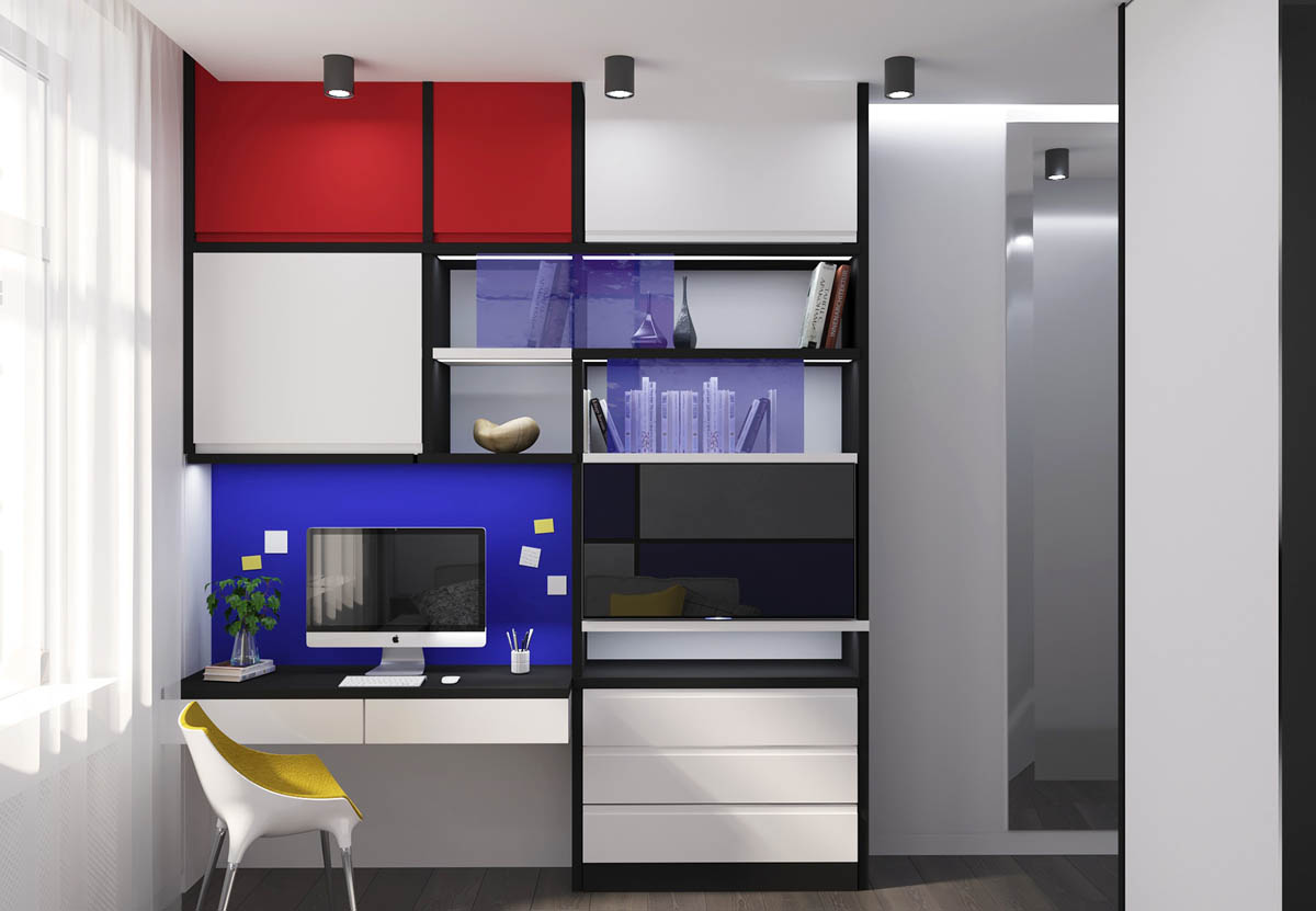 Piet Mondrian Inspired Interior Design To Give Your Home The De Stijl Flair images 8