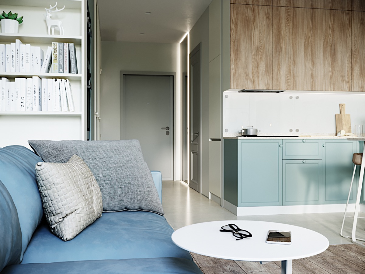 Modern And Youthful: 4 Small Apartments With Fierce Style images 12