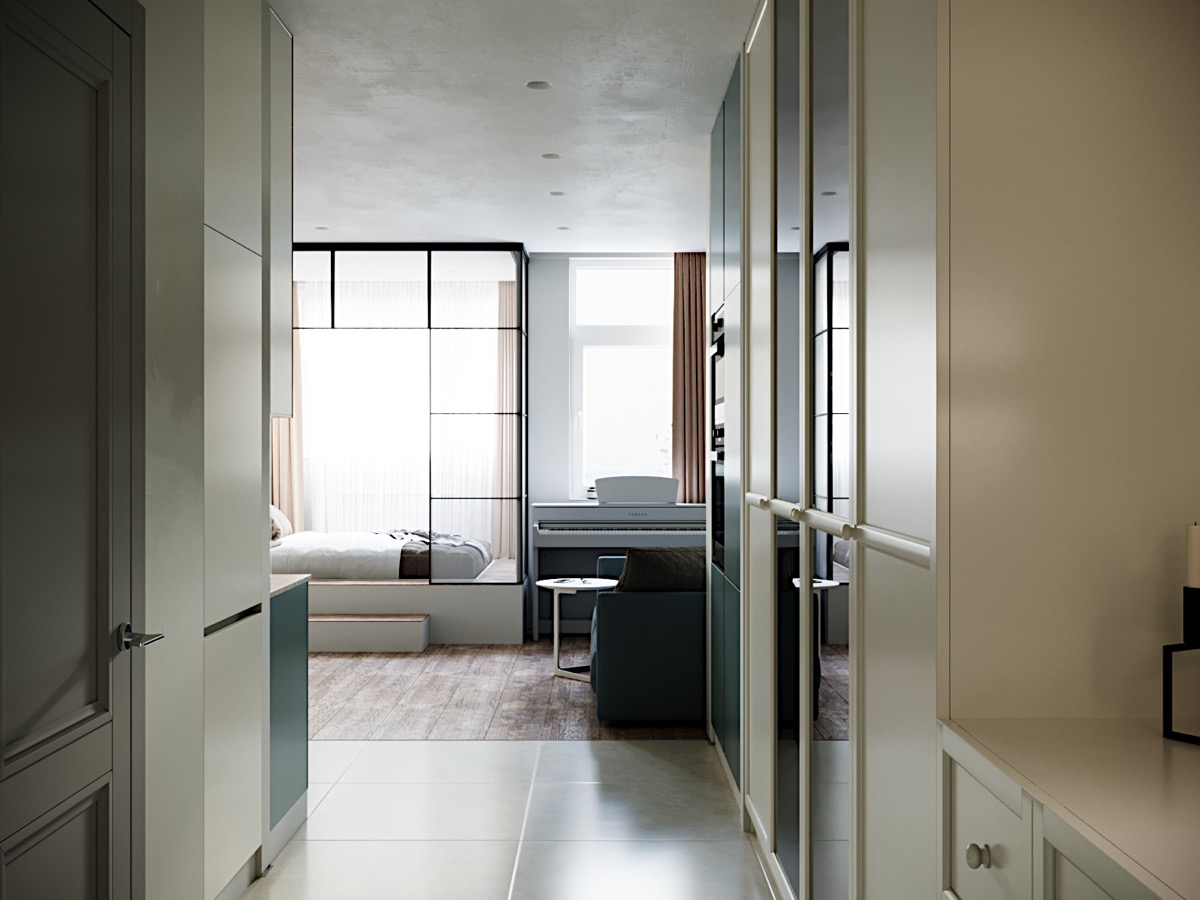 Modern And Youthful: 4 Small Apartments With Fierce Style images 18