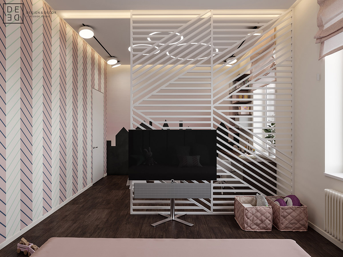 Luxurious Interior With Wood Slat Walls images 23