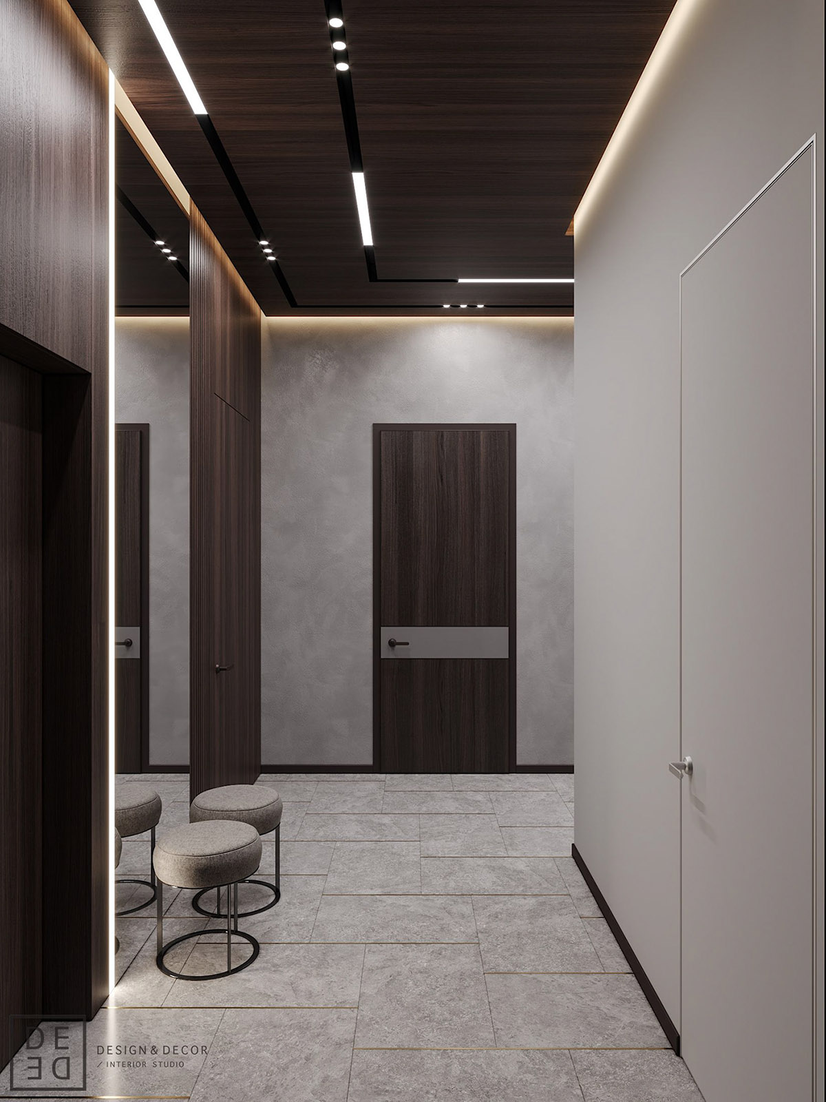 Luxurious Interior With Wood Slat Walls images 29