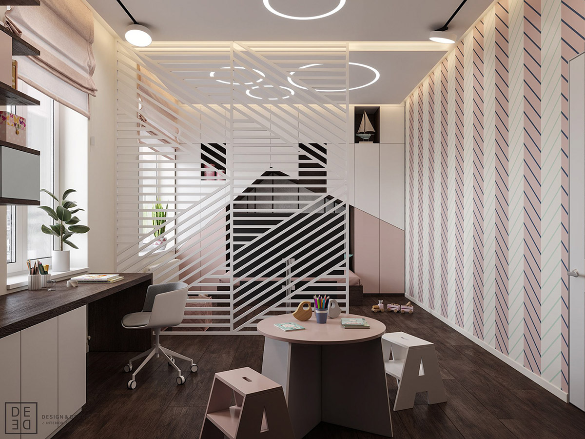 Luxurious Interior With Wood Slat Walls images 18