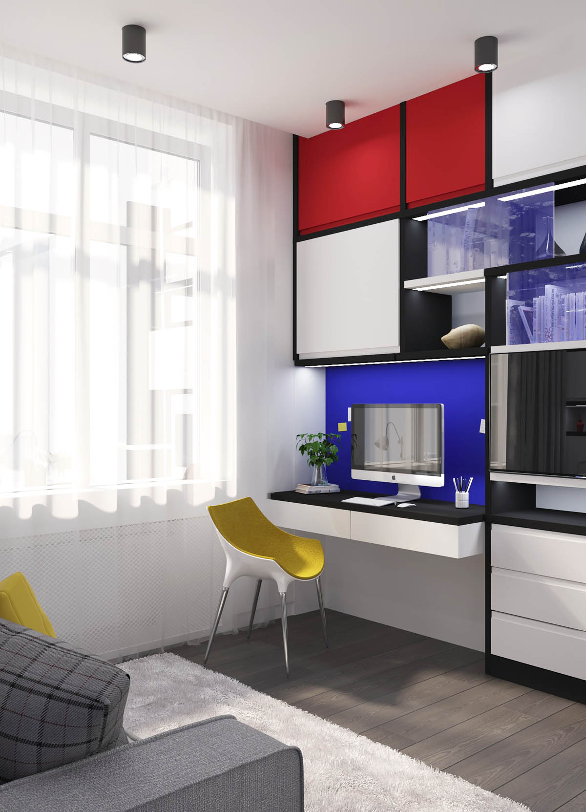 Piet Mondrian Inspired Interior Design To Give Your Home The De Stijl Flair images 9