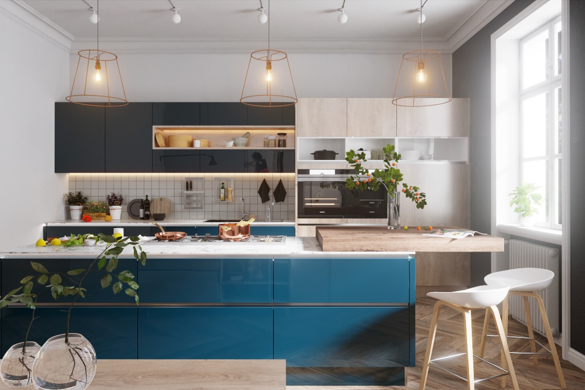 50 Gorgeous Galley Kitchens And Tips You Can Use From Them images 44