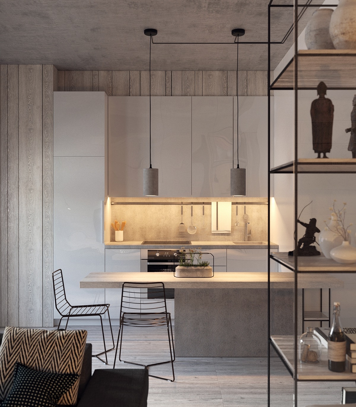 50 Gorgeous Galley Kitchens And Tips You Can Use From Them images 21