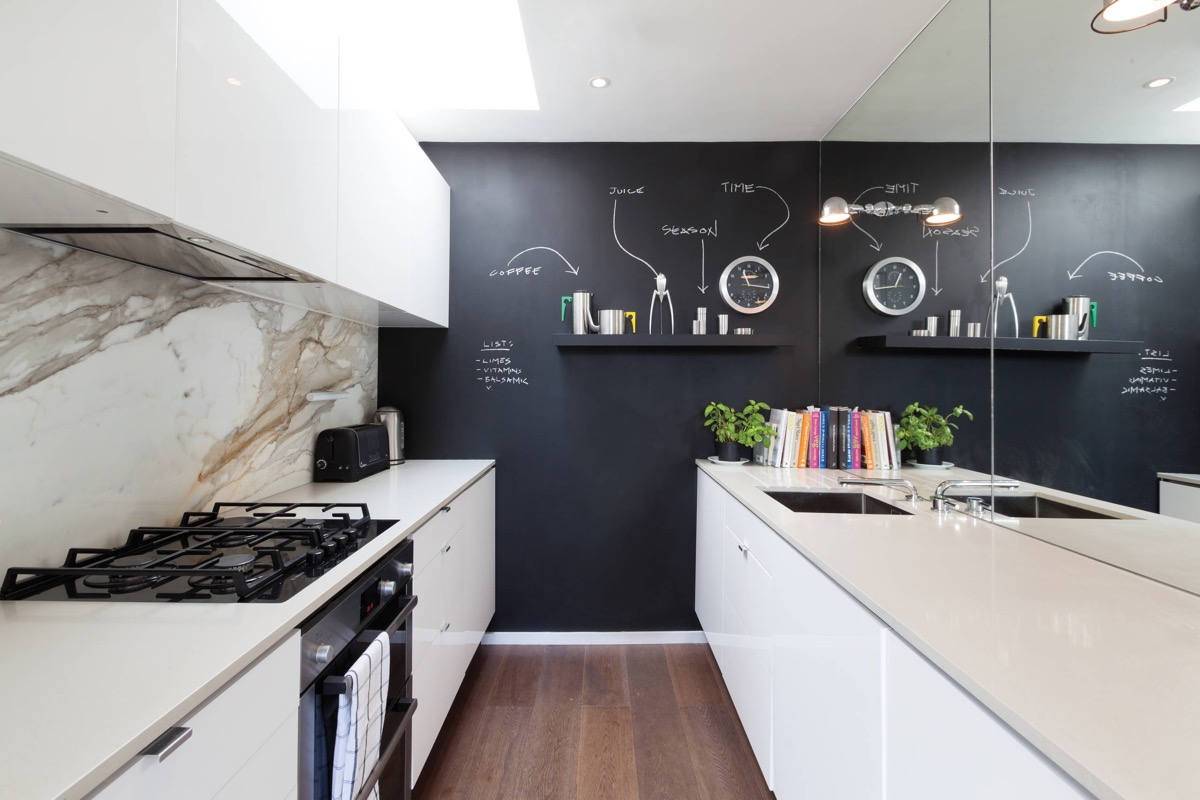 50 Gorgeous Galley Kitchens And Tips You Can Use From Them images 39