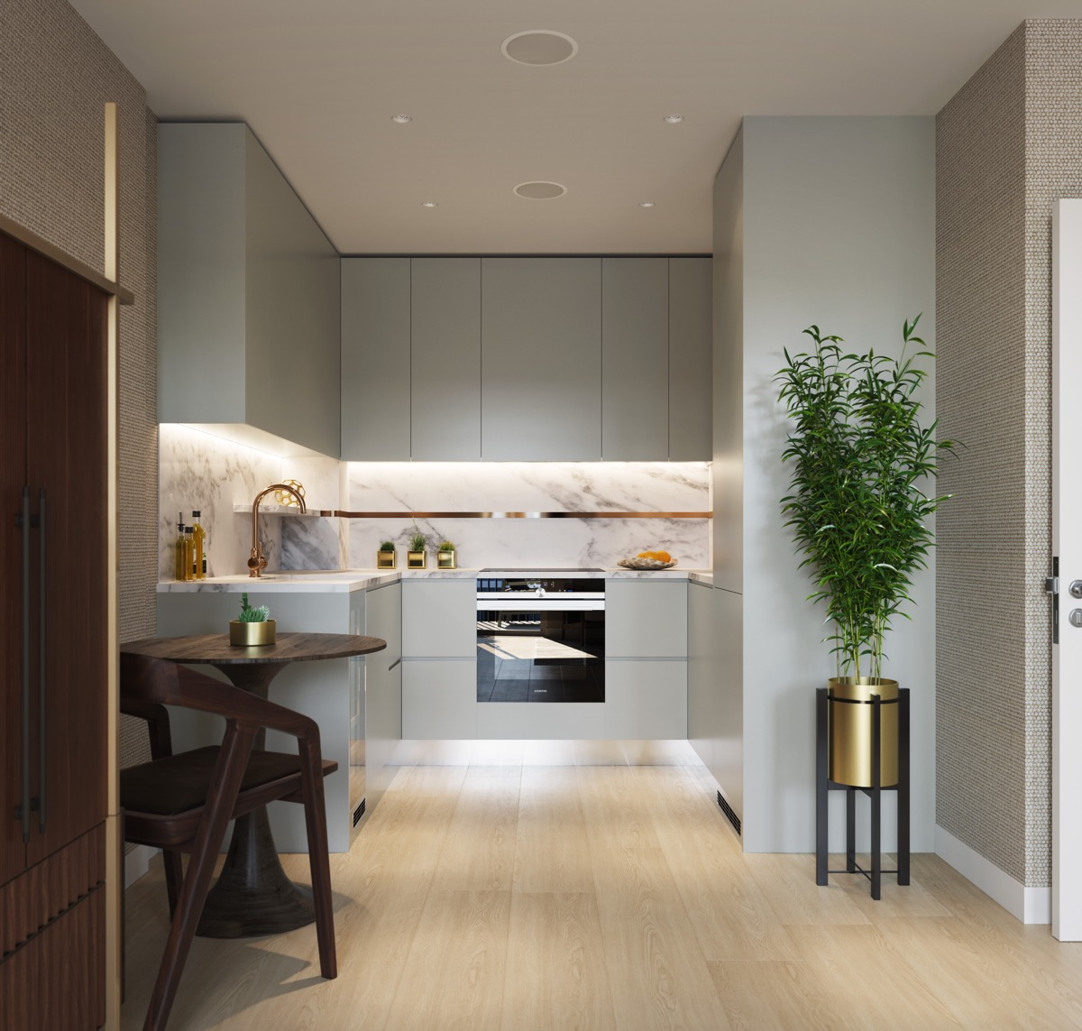 Small Kitchen Design U Shaped: 50 Unique U-Shaped Kitchens And Tips You Can Use From Them