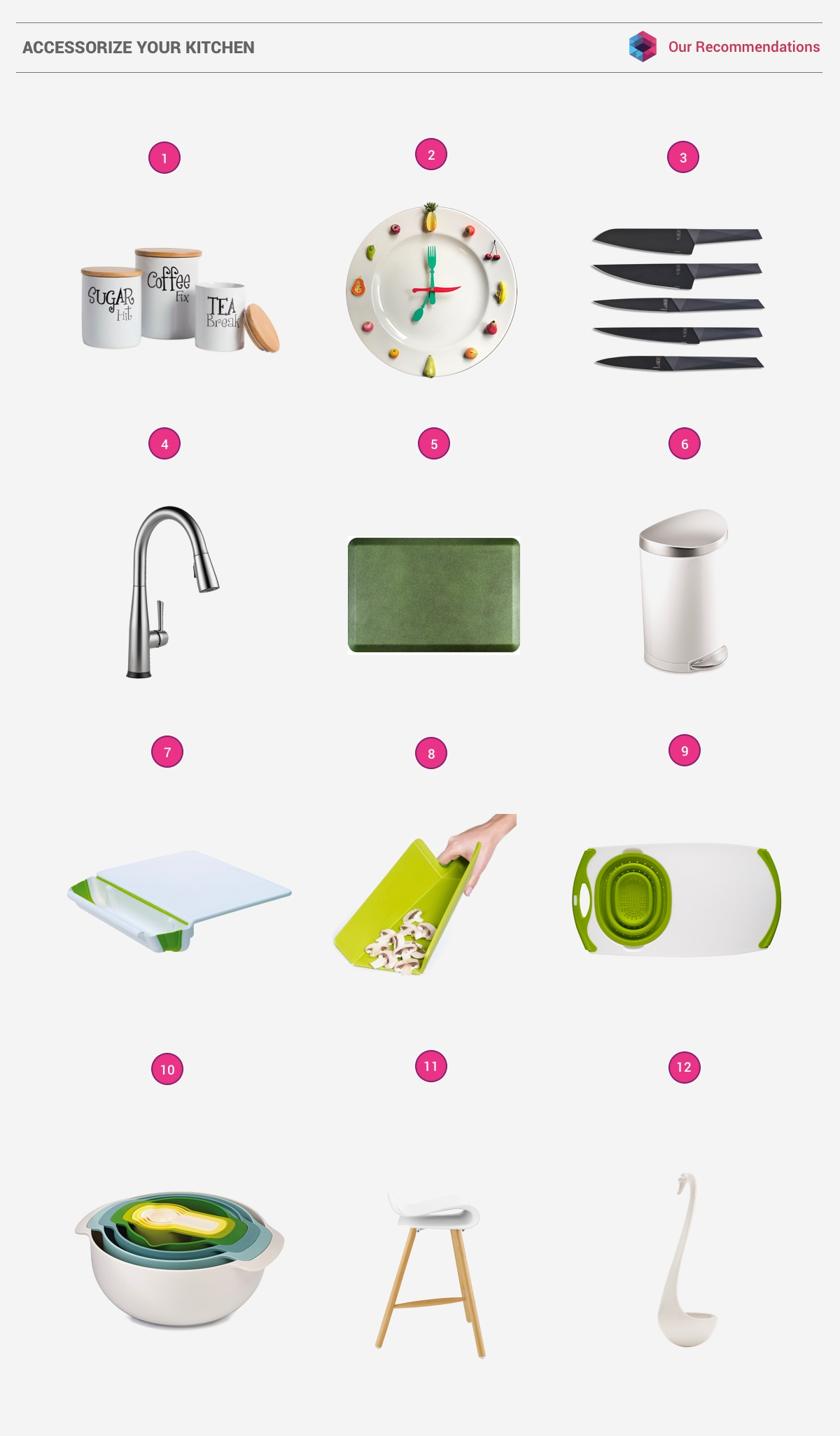 50 Unique U-Shaped Kitchens And Tips You Can Use From Them images 49