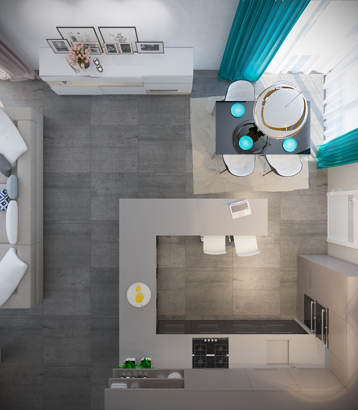 50 Unique U-Shaped Kitchens And Tips You Can Use From Them images 35