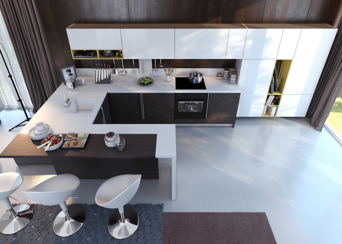 50 Unique U-Shaped Kitchens And Tips You Can Use From Them images 37