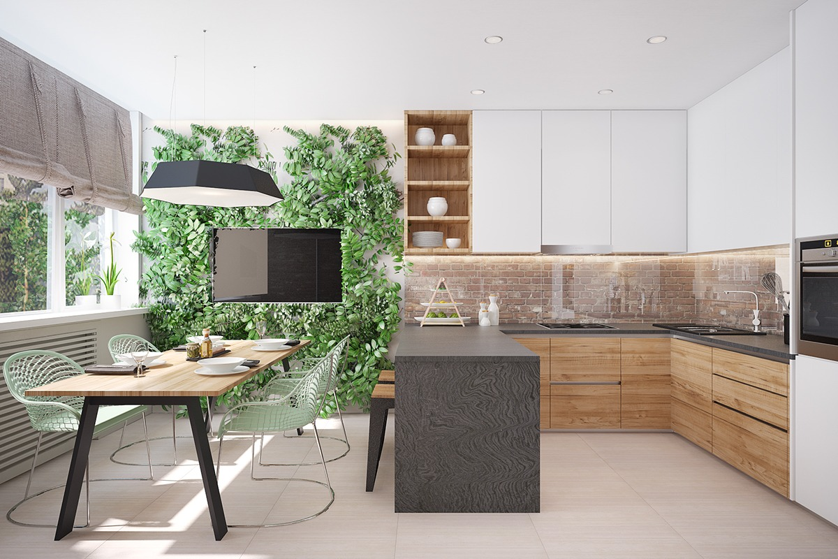 50 Unique U-Shaped Kitchens And Tips You Can Use From Them images 28