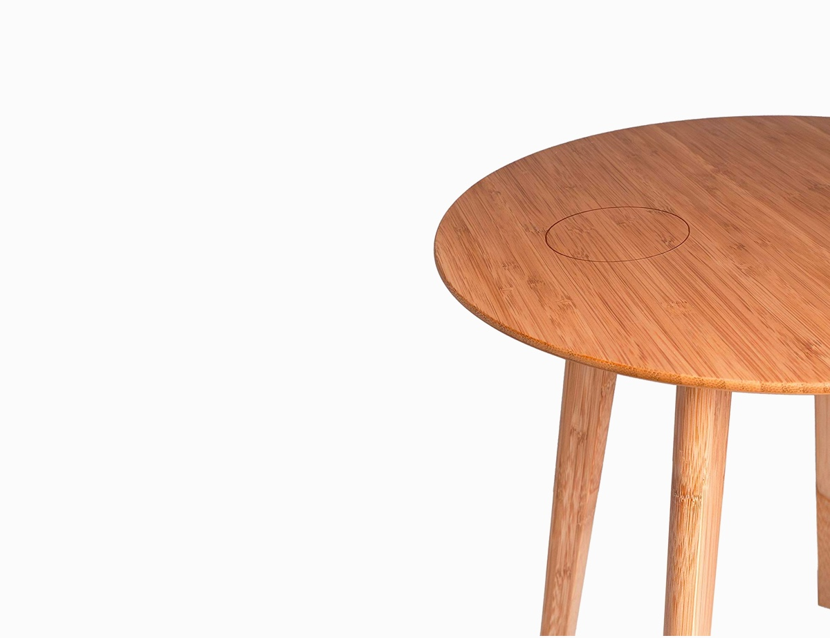 Product Of The Week: A Beautiful Bamboo Side Table With ...
