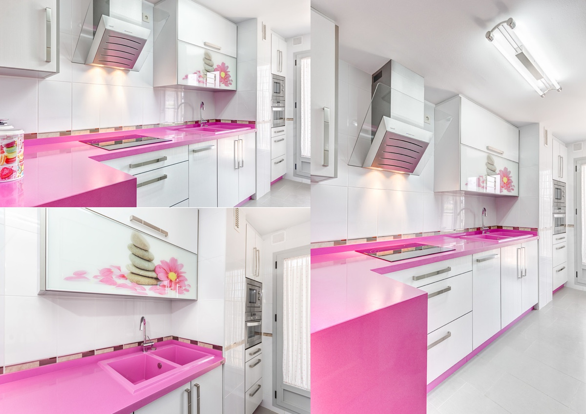 51 Inspirational Pink Kitchens With Tips & Accessories To Help You Design Yours images 34