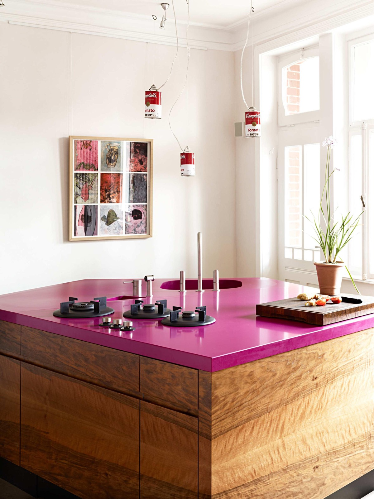 51 Inspirational Pink Kitchens With Tips & Accessories To Help You Design Yours images 35