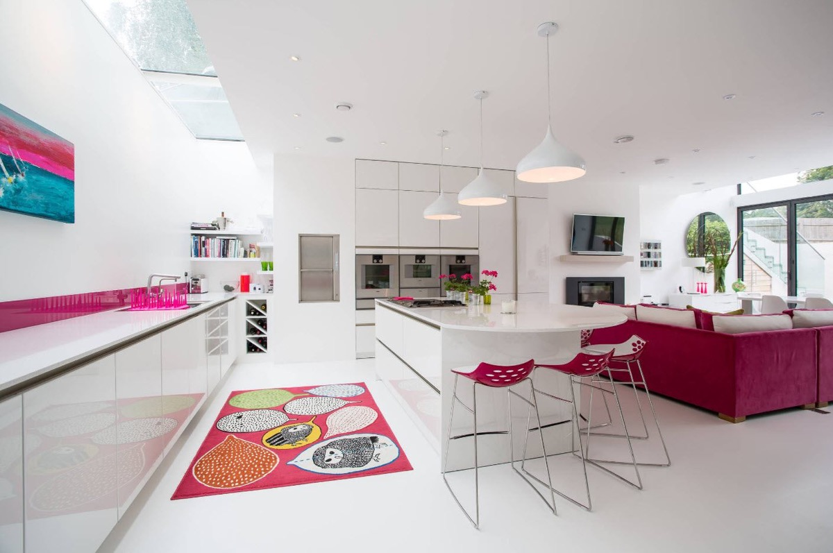 51 Inspirational Pink Kitchens With Tips & Accessories To Help You Design Yours images 33
