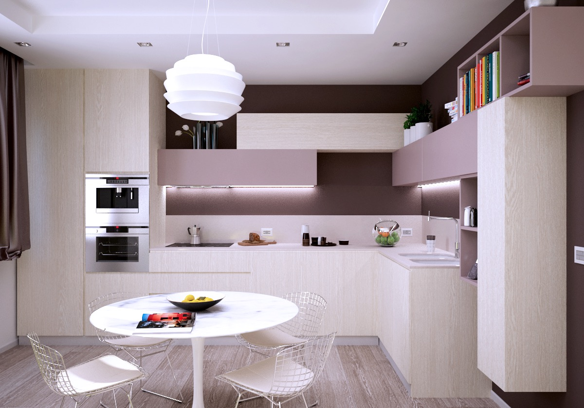 51 Inspirational Pink Kitchens With Tips & Accessories To Help You Design Yours images 26