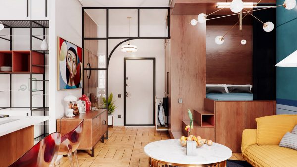 Stepping Up Studio Apartments