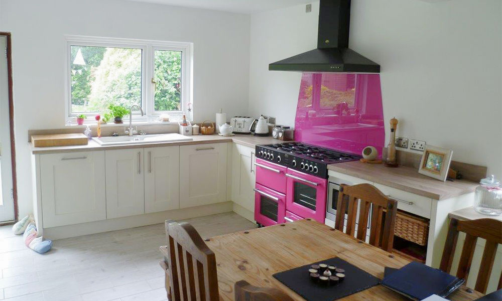51 Inspirational Pink Kitchens With Tips & Accessories To Help You Design Yours images 36