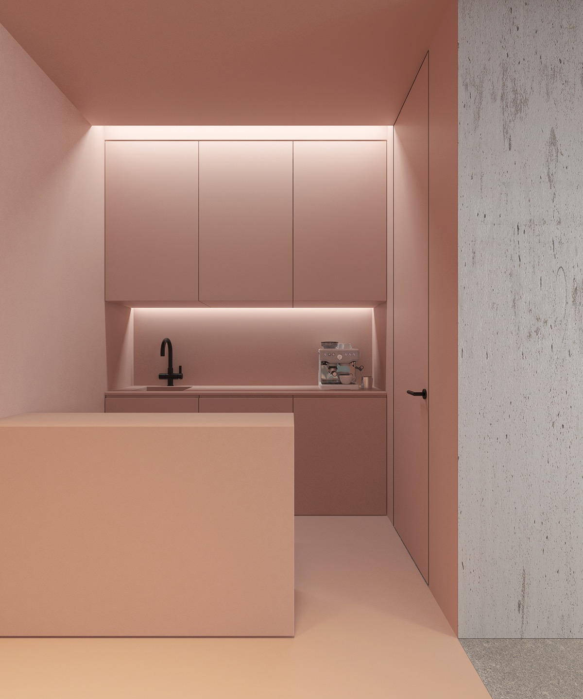 51 Inspirational Pink Kitchens With Tips & Accessories To Help You Design Yours images 2