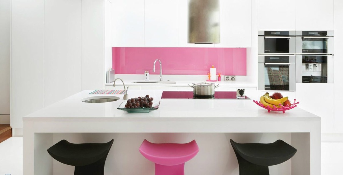 51 Inspirational Pink Kitchens With Tips & Accessories To Help You Design Yours images 32