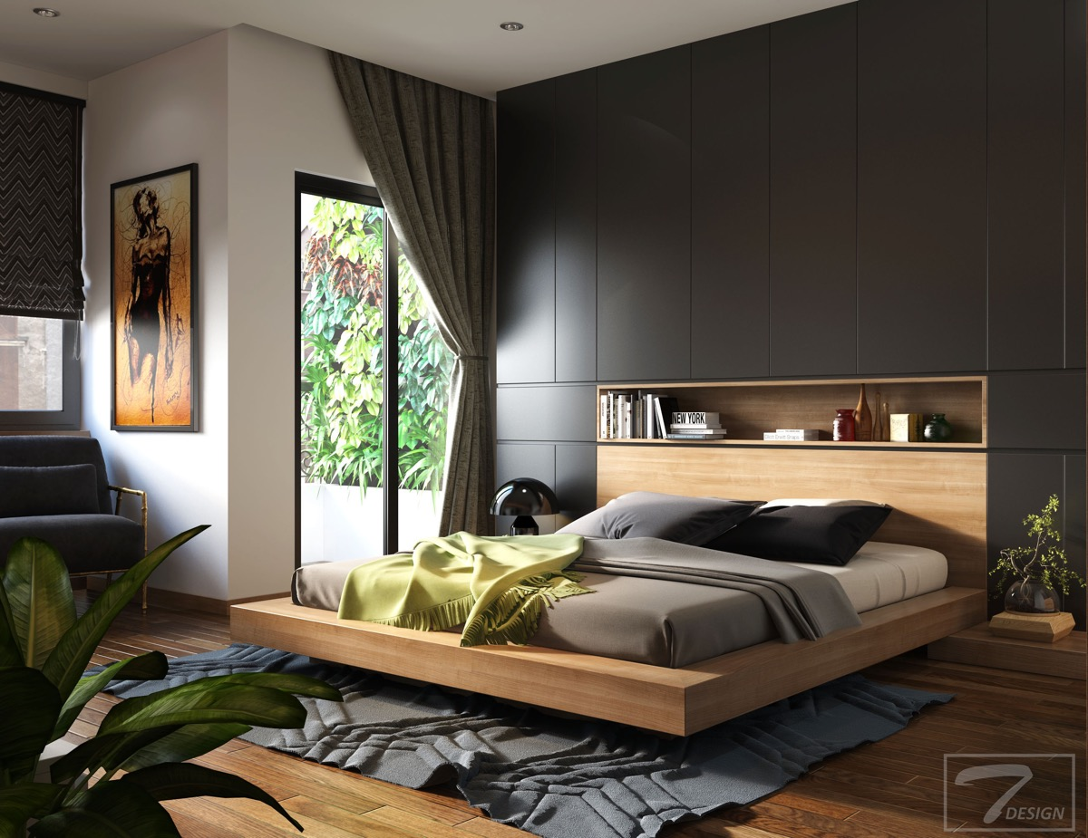 8. 51 Modern Bedrooms With Tips To Help You Design   Accessorize Yours