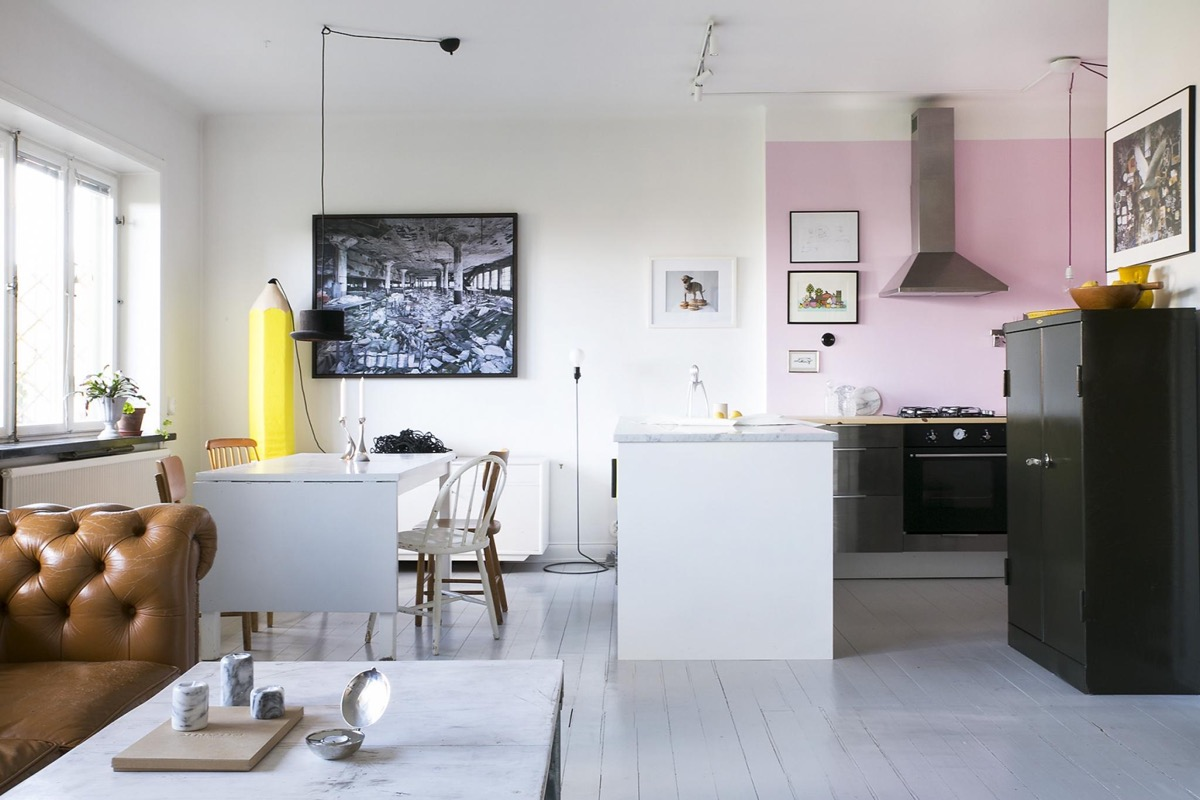 51 Inspirational Pink Kitchens With Tips & Accessories To Help You Design Yours images 8
