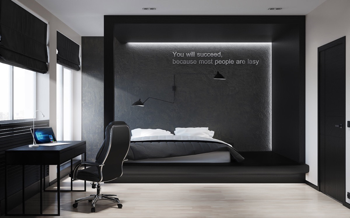 Bedroom motivational quotes