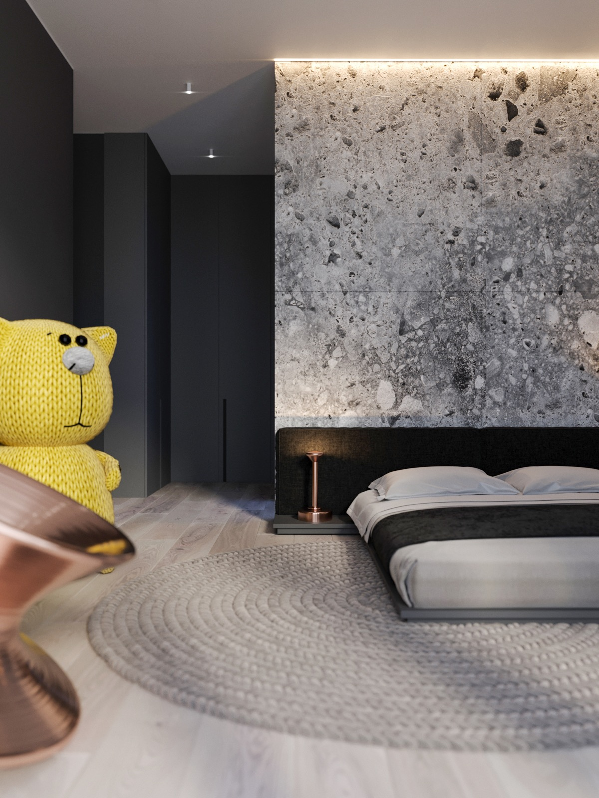 black and gold bedroom ideas