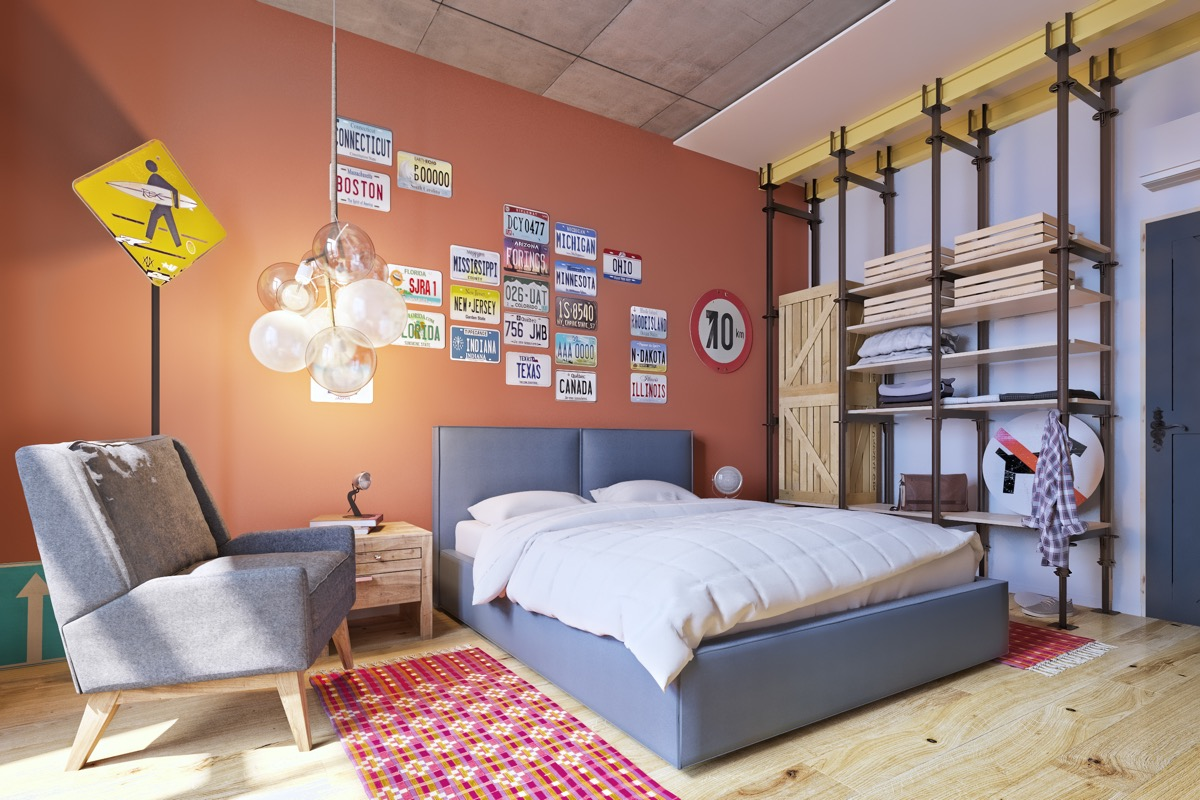 25 |; Visualizer Martins Architects & 51 Cool Bedrooms With Tips To Help You Accessorize Yours