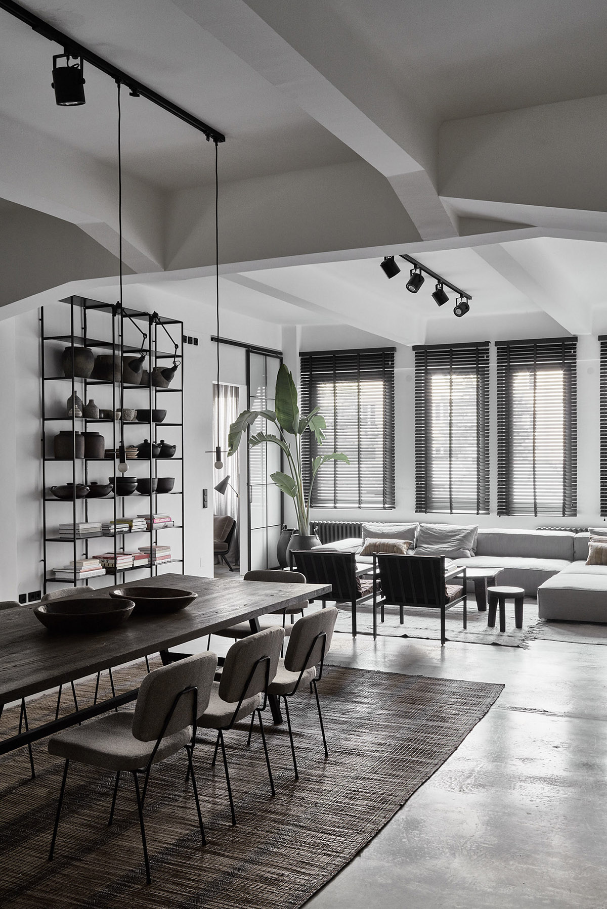Captivating 21 |; Designer: Annabell Kutucu. In This Modern Open Concept Living And Dining  Room ...