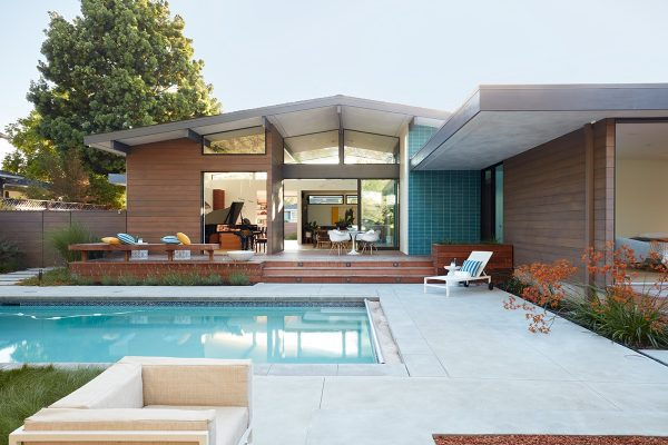 Mid Century Modern Style Home In Silicon Valley