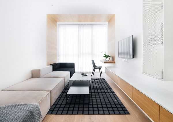 Small Apartment With Big Ideas On Bespoke Furniture