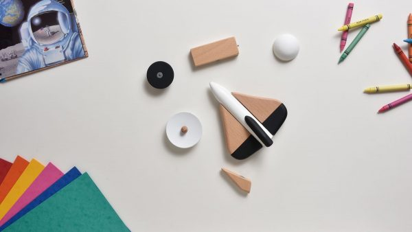 Product Of The Week: A Beautiful Space Themed Toy Set Made Of Wood & Magnets