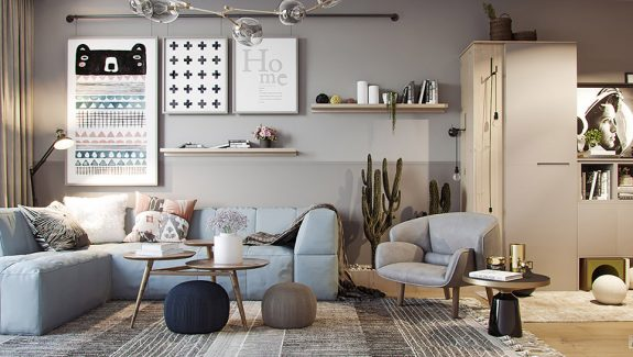 3 Small But Super Stylish Apartments