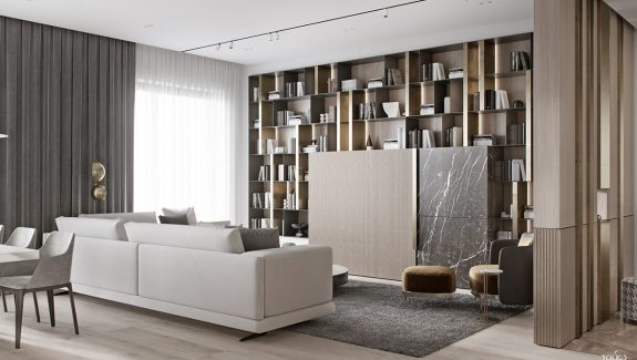Luxury Interior Design Using A Neutral Palette
