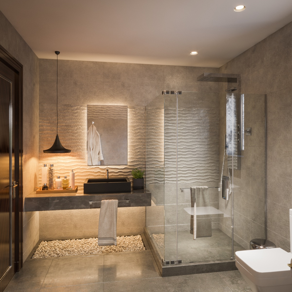 . 51 Modern Bathroom Design Ideas Plus Tips On How To Accessorize Yours