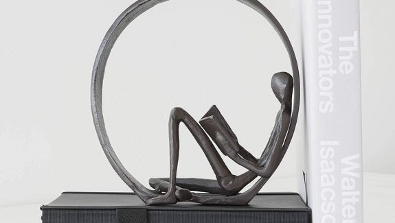 Product Of The Week: A Beautiful Reading Man Bookend