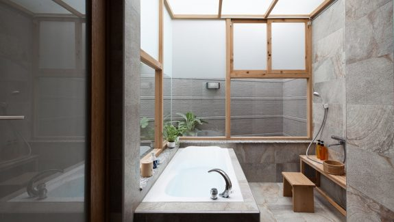 Minimalist Chinese Home With A Covered Courtyard